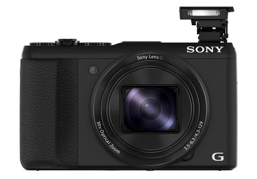Sony-DSC-HX50V-front-flash
