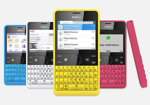 Nokia Asha 210, WhatsApp man!