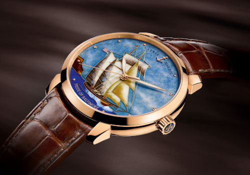 Ulysse Nardin has made the Pride of Baltimore alive on limited gold watch – Classico Pride of Baltimore